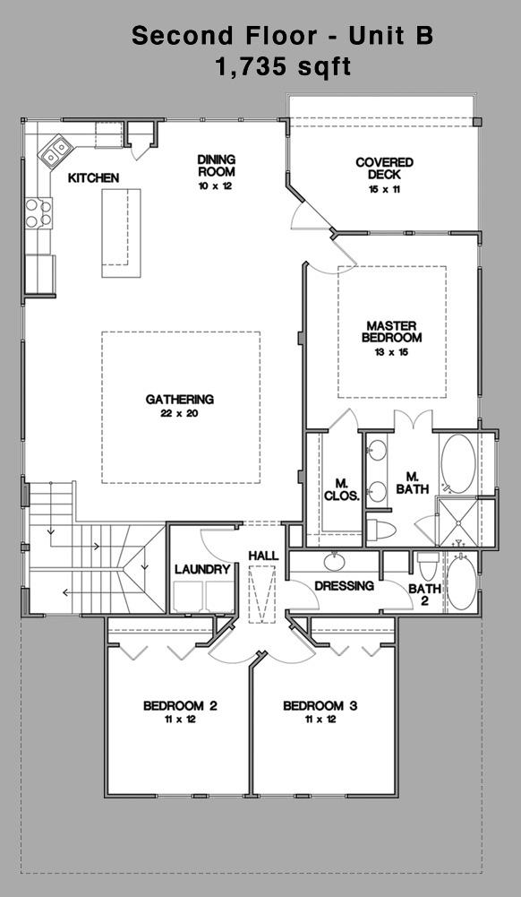 Unit B - Mark Collins Builders, Inc.
